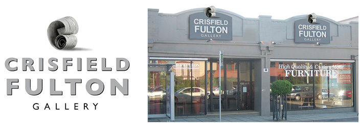 Crisfield logo and storefront
