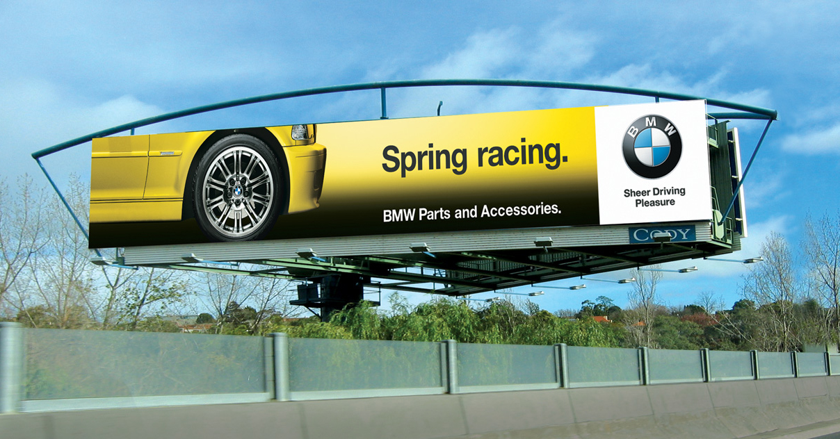 Spring racing outdoor site