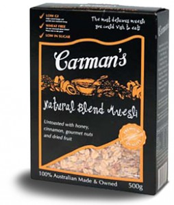 Carman's original pack design