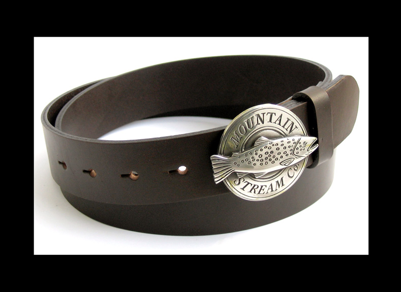 Mountain Stream Co trout buckle belt